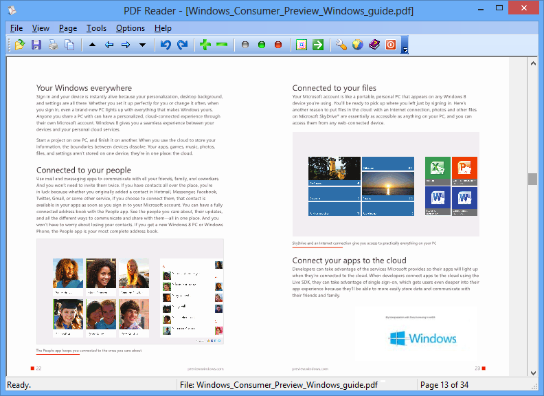 light pdf reader for windows